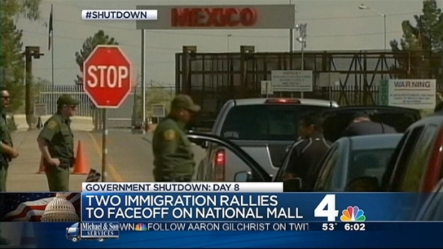 [DC] Groups Hold Immigration Rallies on Mall
