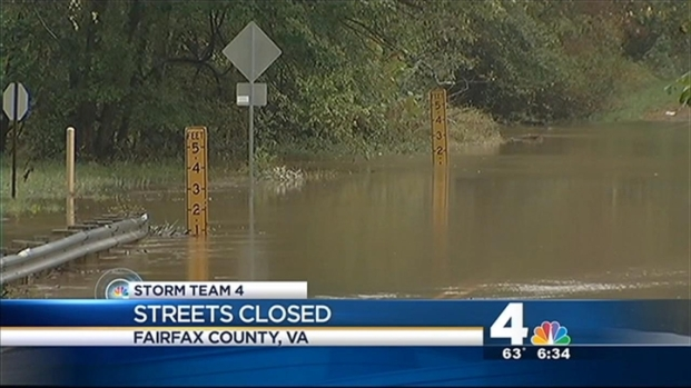 [DC] Roads Closed Because of Flooding