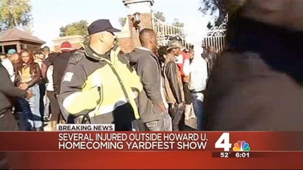 [DC] Several Injured, One Hospitalized During Howard U Concert