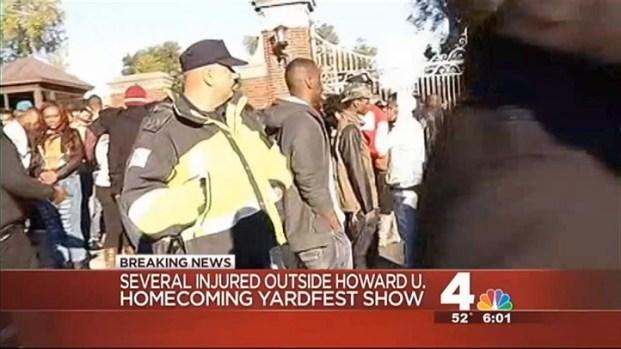 [DC] Several Injured, One Hospitalized During Howard U Concert