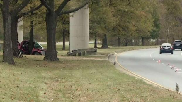 Woman Dies in Suitland Parkway Crash