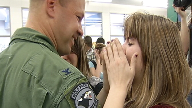[DC] Military Family's Tearful Reunion