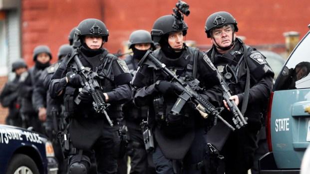 [NATL] Manhunt in Boston After 1 Suspect Shot Dead
