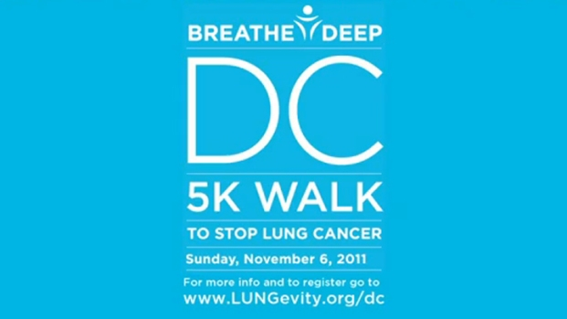 [DC] Lungevity Raising Awareness, Money for Those Affected by Lung Cancer