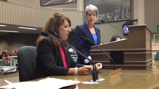 [DGO]Domestic Violence Victim Testifies in Sacramento