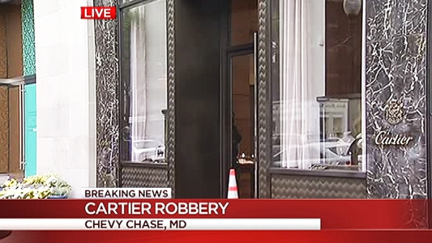 [DC] Smash-and-Grab Robbery at Cartier in Chevy Chase