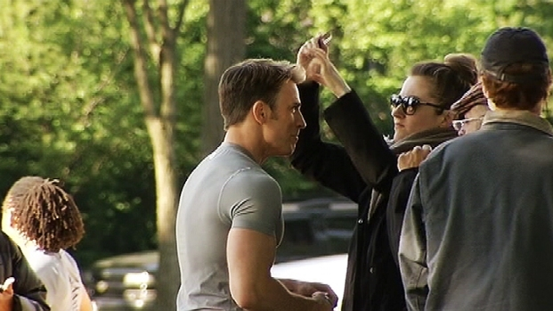 [DC] 'Captain America' Sequel Shoots on National Mall