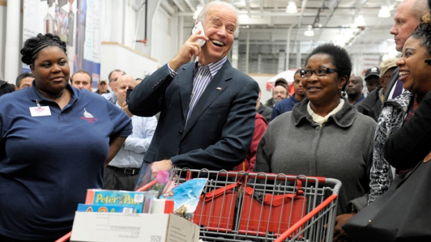 VP Biden's Costco Shopping Spree