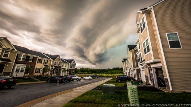 Viewers' Monday Storm Photos