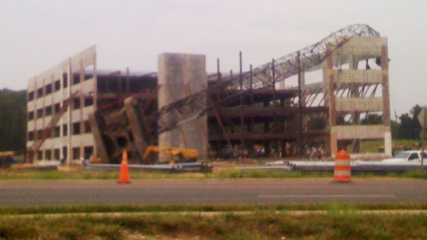 Quantico Crane Collapse