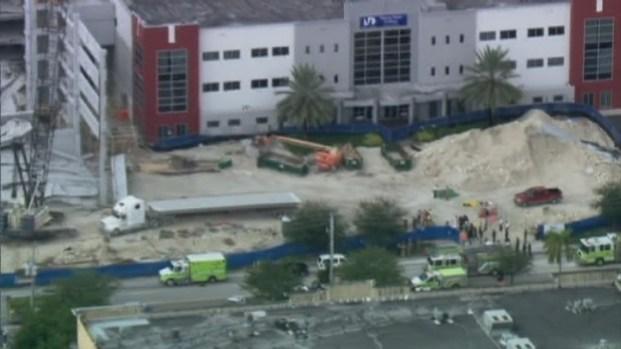[MI] RAW VIDEO: Garage Collapse at Miami-Dade College