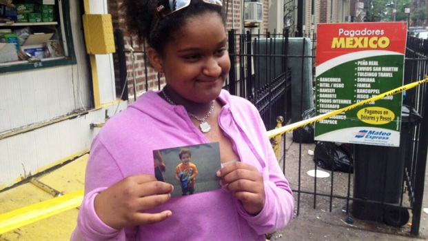 [NATL-V-NY] Girl Tosses Brother, 3, from Fire Escape to Save Him