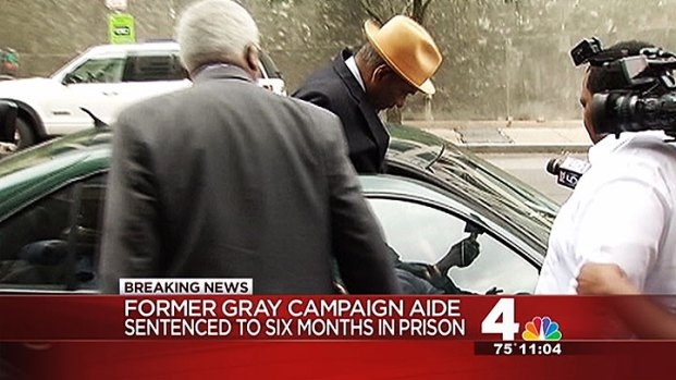 [DC] Former Gray Aide Gets 6 Months in Prison