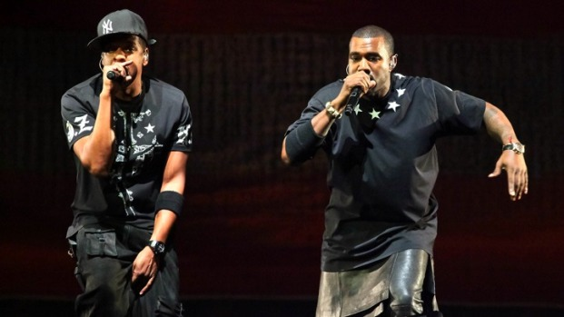 Pics: Jay-Z & Kanye at the Verizon Center