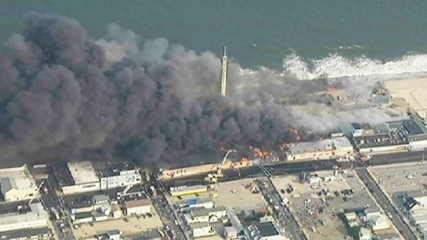 [NATL-NY] Raging Fire on Jersey Shore Boardwalk