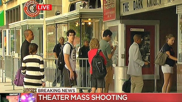 [DC] Despite Shooting, DC Crowds Line Up for 'Dark Knight Rises'
