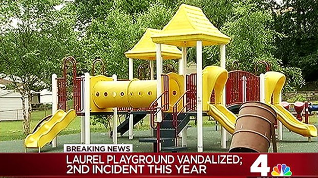 [DC] Md. Playground Vandalized Again