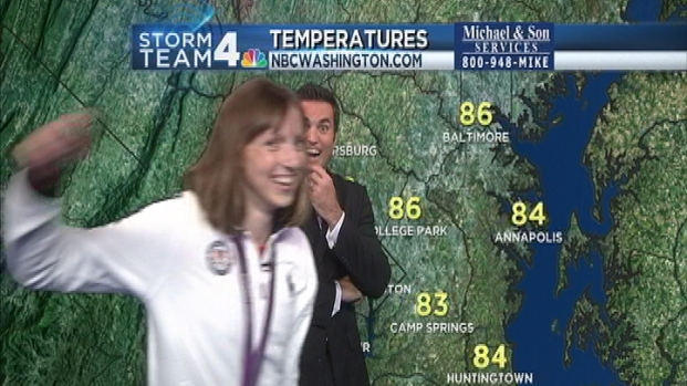 [DC] Ledecky Swims Through the Forecast