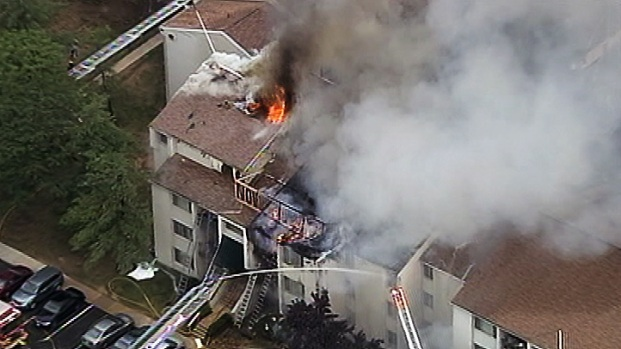 [DC] 17 Rescued From Burtonsville Apartment Fire