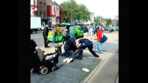 [DC] Metro Police Rough Arrest Video