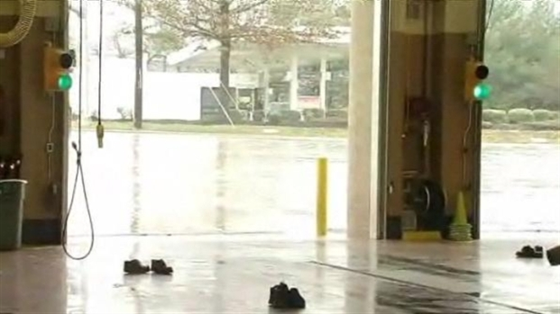 [DC] High Water Floods Roads in Montgomery County