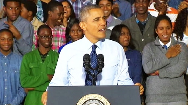 """[NY] Obama: Brooklyn Is """"Cool,"""" Inspired Generations of Immigrants"""