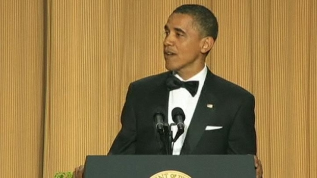 [DC] President Obama Cracking Jokes at Washington Hilton