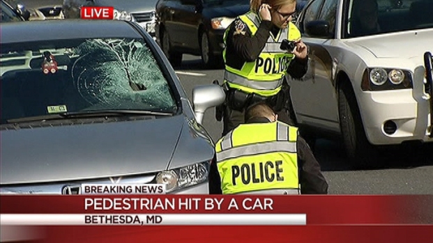 [DC] Pedestrian Hit By Car in Bethesda