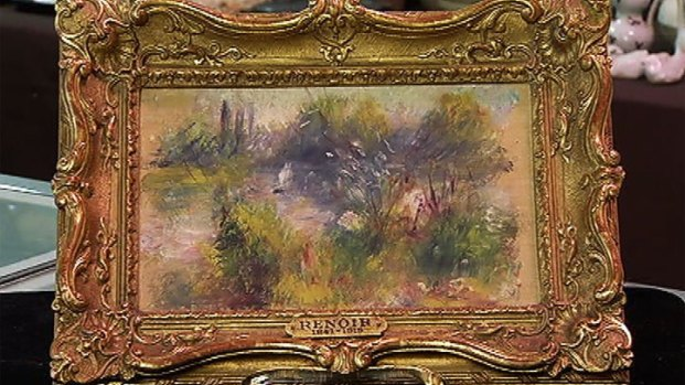 [DC] Renoir Found at Virginia Flea Market