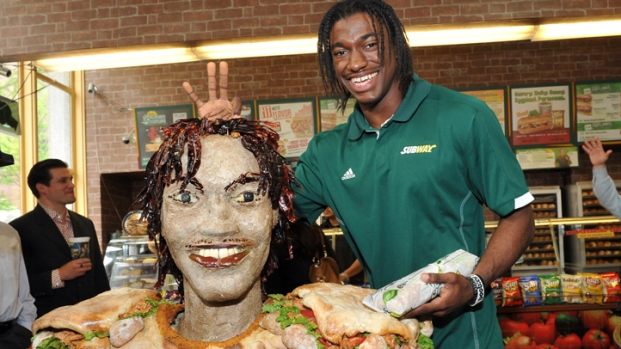 [DC] Robert Griffin III's Subway Statue