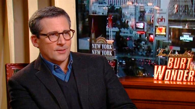 "[NBCAH] Steve Carell On ""The Incredible Burt Wonderstone"""