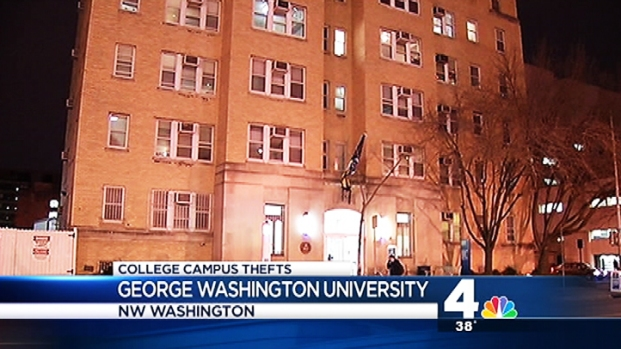 [DC] Electronics Swiped From GW, Georgetown Dorms