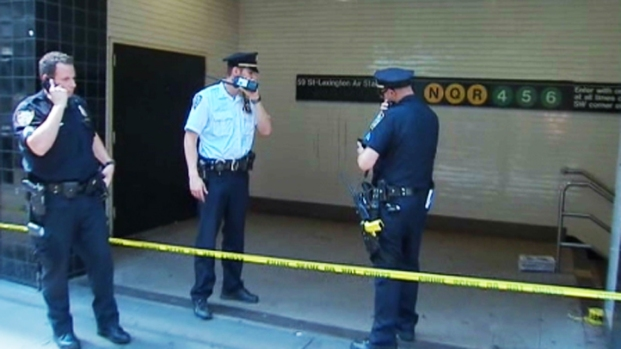 [NY] Woman Stabs 1 Woman, Punches Other on Manhattan Subway Train
