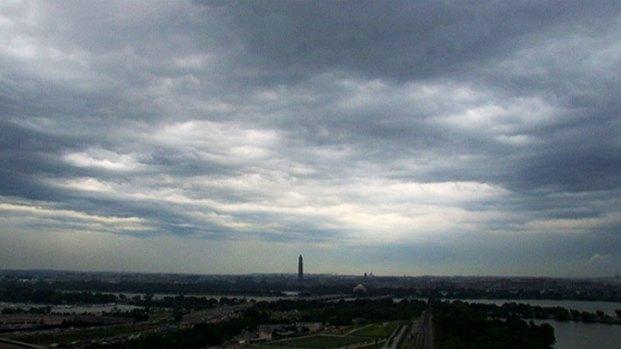 [DC] Timelapse Video: Thursday Morning D.C. Storms