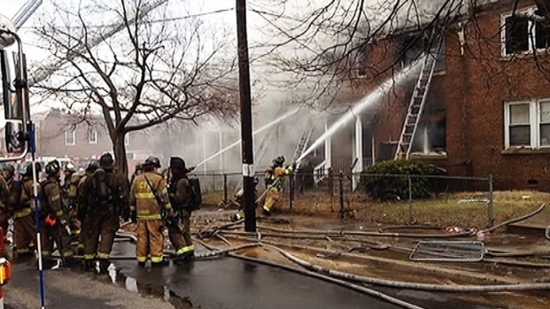 [DC] Two Die in Southeast Apartment Fire