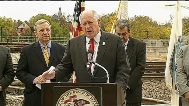 [CHI] Quinn Touts High Speed Rail