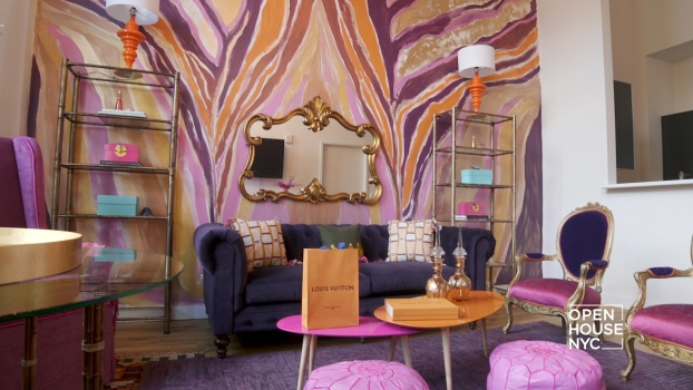 A Colorful Living Room by Bailey Li