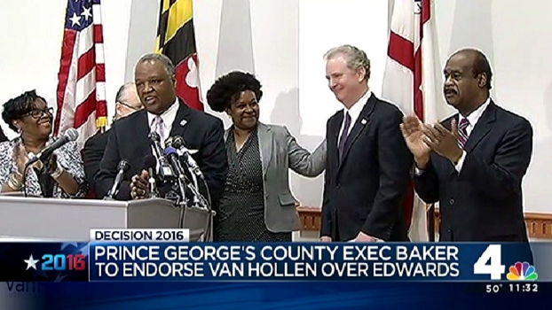 Baker Endorses Rep. Chris Van Hollen
