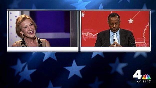 Carson, Fiorina Announce Run for President