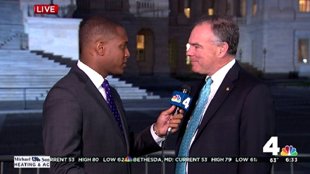 Sen. Kaine Anticipates Pope's Address