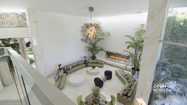 Home Tour: Grand and Opulent Beverly Hills Estate