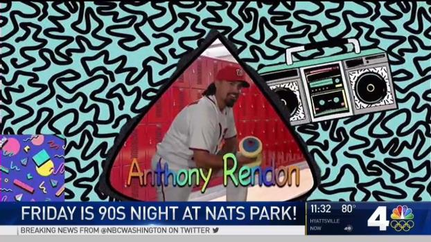 #TBT: Thursday Is 90s Night at Nats Park