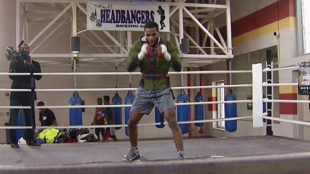 Boxing Peterson Brothers Training for Jan. 20 Fights