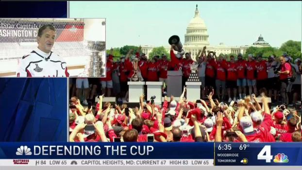 Washington Capitals Get Ready for Home Opener