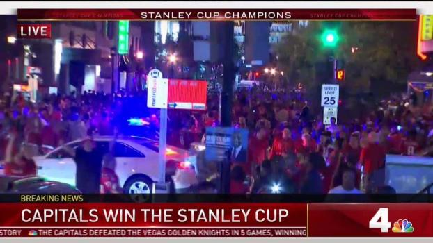 Caps Win the Cup; DC Goes Wild