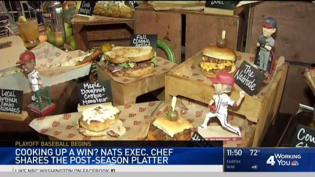 Cooking Up a Win: Nats Exec Chef Shares Post-Season Platter