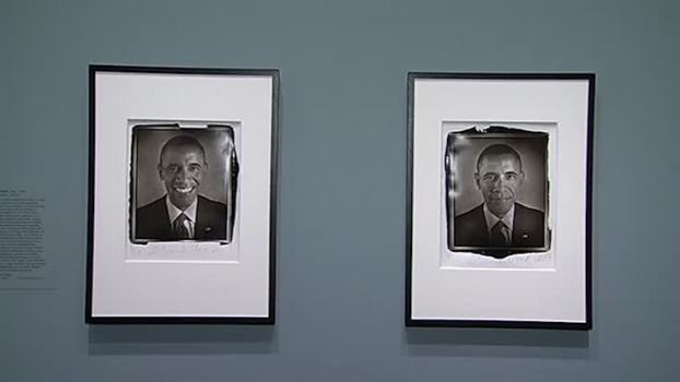 Obama Photographs on Display at National Portrait Gallery