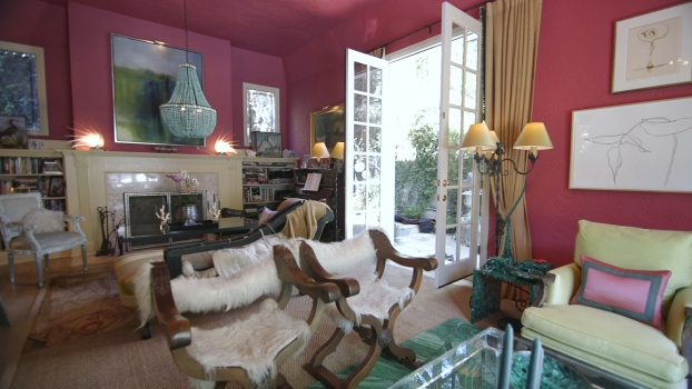 At Home with Marjorie Skouras
