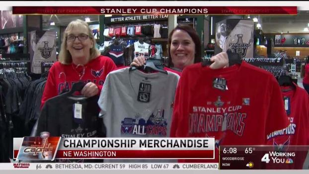 Stores Open Early to Sell Championship Merchandise