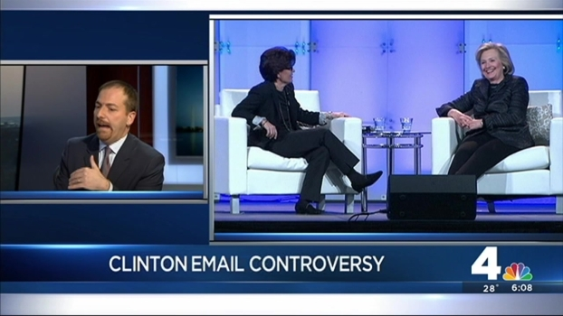 Meet the Press Moderator Chuck Todd on Clinton Email Controversy